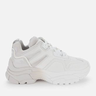 Ash Women's Active Chunky Trainers - White/Grey
