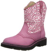 Roper Chunk Leopard Glitter Western Boot (Toddler/Little Kid)