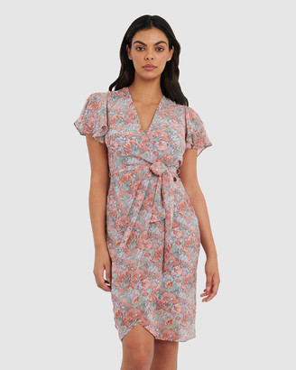 Forcast Women's Wrap Dresses - Coco Floral Wrap Dress - Size One Size, 6 at The Iconic