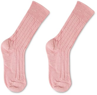Heating & Plumbing London Luxury Lounge Socks In Alpaca - Light Pink