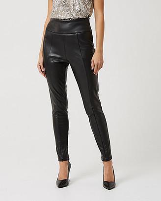 Le Château Faux Leather Skinny Leg Pant