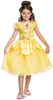 Disguise Girls' Costume Outfits - Disney Belle Classic Costume - Toddler & Girls