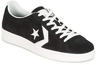 Converse PRO LEATHER 78 OX men's Shoes (High-top Trainers) in Black
