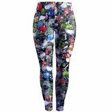 Paixpays New Ladies Womens Santa Snowman Christmas Skinny Trouser Xmas Leggings Pants