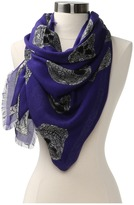 Alexander McQueen SL Stained Gla Scarve