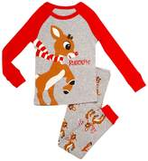 Rudolph the Red-Nosed Reindeer Rudolph Heather Tee & Leggings Set