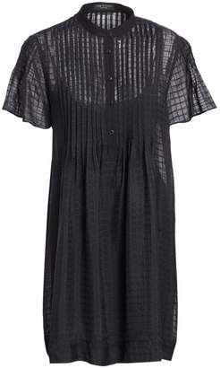 Rag & Bone Check Print Shirtdress