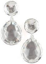 Ippolita 925 Rock Candy Snowman Earrings in Clear Quartz
