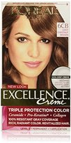 L'Oreal Excellence Creme, 6CB Light Chestnut Brown, (Packaging May Vary)