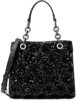 MICHAEL Michael Kors Flora Burst Small North South Satchel