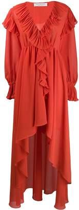 Philosophy di Lorenzo Serafini ruffled asymmetric dress