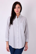 Grey Laurent Oversized Shirt