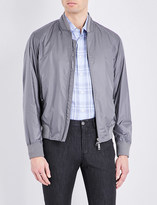 Brioni Stand collar bomber jacket