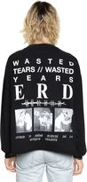 Enfants Riches Deprimes Wasted Years Printed Cotton Sweatshirt