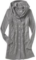 Women's Hooded Sweater Coats
