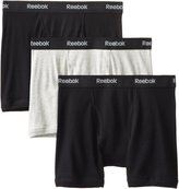 Reebok Men's 3 Pack Cotton Boxer Brief