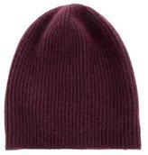 Marc Jacobs Rib Knit Cashmere Beanie