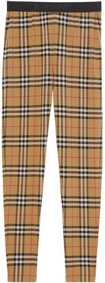 Burberry Vintage Check pattern leggings
