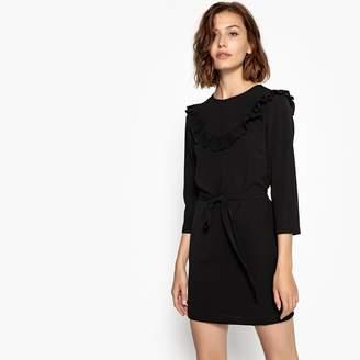 Molly Bracken Short Flared Dress with 3/4 Length Sleeves