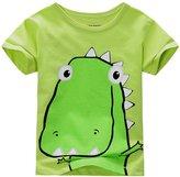 Frogwill Little Boys Summer Cotton Short Sleeve Tee Shirt