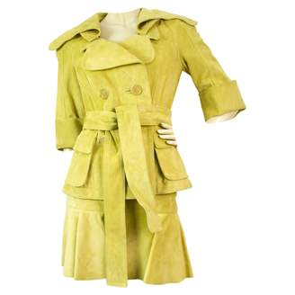 Louis Vuitton Yellow Suede Jackets