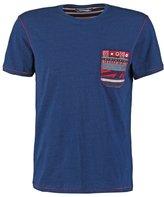 Desigual Print Tshirt Azul Tinta