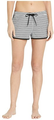 O'Neill Sea Level Boardshorts (White/Black) Women's Swimwear