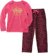 Juicy Couture Girls' 2Pc Pajama Set