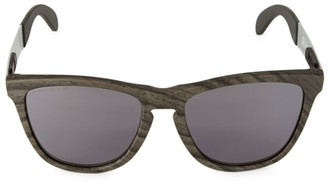 Oakley 55MM Frogskins Mix Woodgrain Sunglasses
