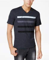 INC International Concepts Men's Striped V-Neck T-Shirt, Only at Macy's