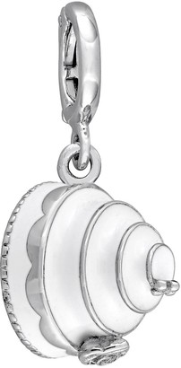 Laura Ashley Lifestyles Jubilee Collection Sterling Silver Tiered White Cake Charm