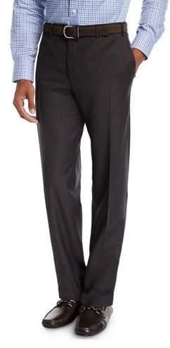 Canali Twill Flannel Wool Dress Pants