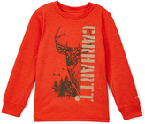 Carhartt Heather Orange Deer Force Tee - Boys