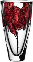 Kosta Boda Tattoo Vase, Red