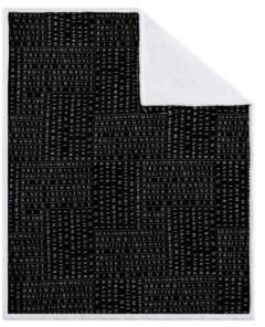 "Sean John Closeout! Black Excellence 50"" x 70"" Boxed Throw Bedding"