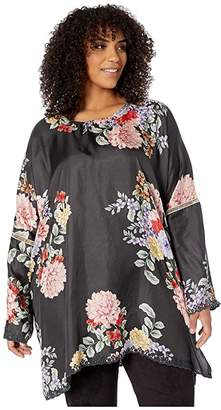 Johnny Was Plus Size Linden Top (Multi B) Women's Clothing