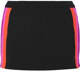 NO KA 'OI No Ka'Oi Amae paneled stretch-jersey shorts
