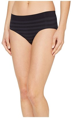 Jockey Comfies(r) Matte Shine Hipster (Black) Women's Underwear
