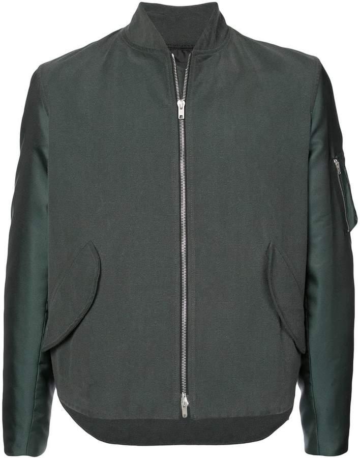 Yang Li boxy bomber jacket