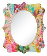 Deny Designs Oval Decorative Wall Mirror