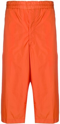 Comme Des Garçons Shirt Boys Side Panel Cropped Trousers