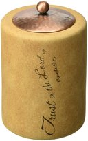 Comfort Candles Trust in the Lord by Pavilion 4-Inch Cylinder Candle Holder Includes Tea Light Candle