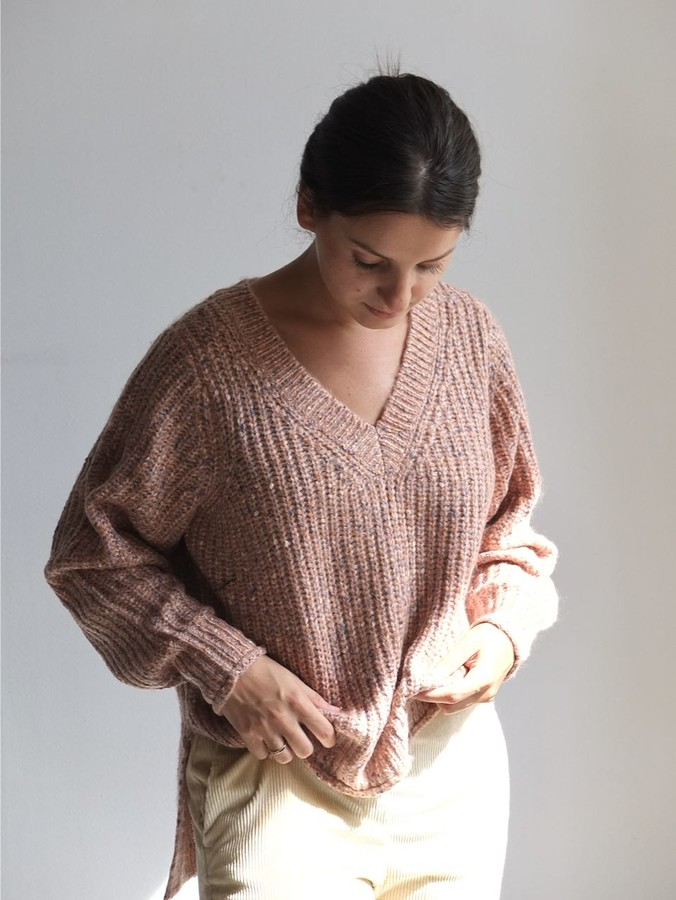 Vila Vifresh Knitted Jumper - XS | rose - Rose