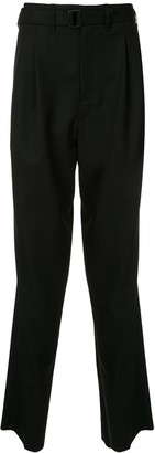 Lemaire Pleated High-Waisted Trousers