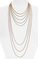 Halogen Women's Multistrand Chain Necklace