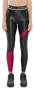 Koral Appeal Color-Block Leggings