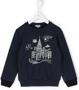 Paul Smith city print sweatshirt