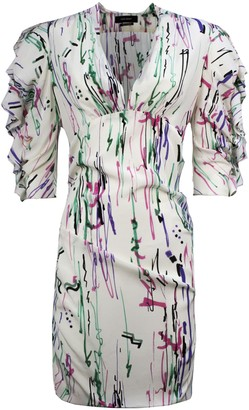 Isabel Marant White Silk Dress