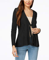 Style&Co. Style & Co Tie-Front Cardigan, Created for Macy's
