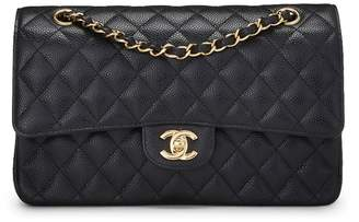 Chanel Black Quilted Caviar Classic Double Flap Medium